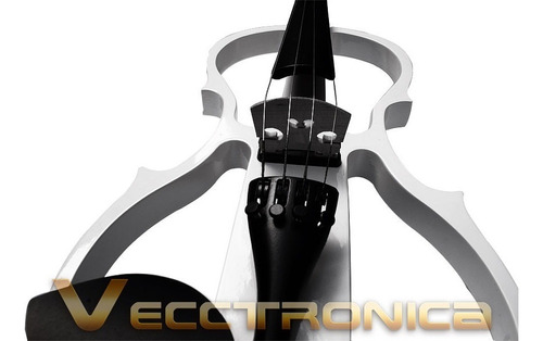 fenomenal violin electrico semi hueco audifonos y  regalos