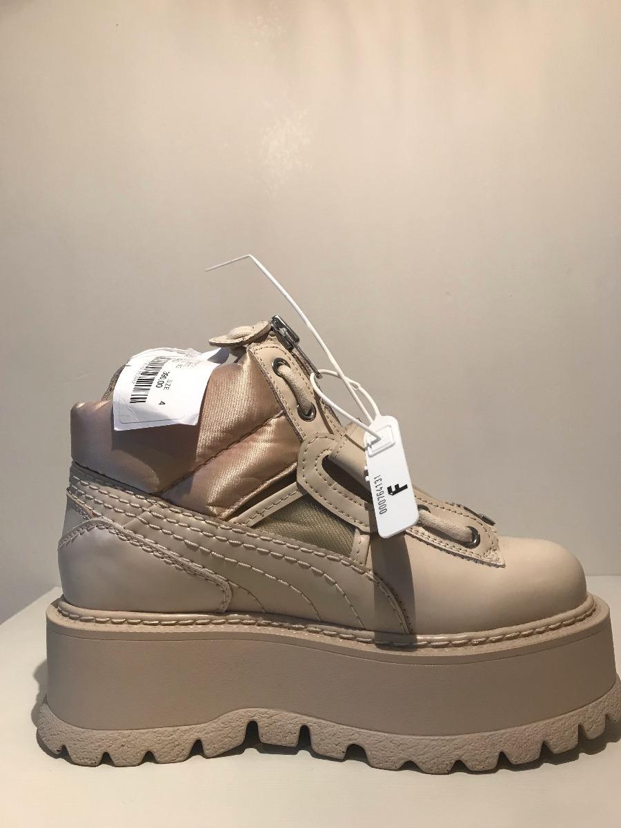 release date: abb4d 7b967 Fenty Puma X Rihanna Women's Strap Platform Sneaker Boots
