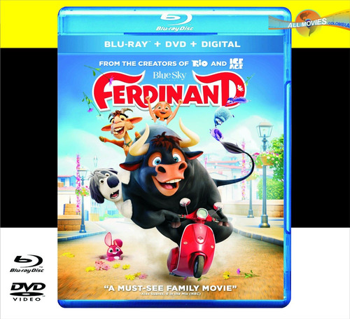 ferdinand blu-ray+dvd original!!