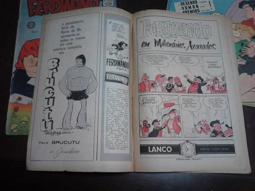 ferdinando nº 11. e nº 14 - lote com 2 gibis rge 1962/1963