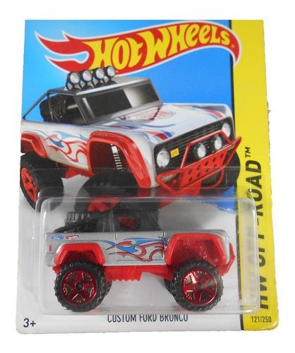 fermar4020  custom ford bronco l-1009  #121  2015 hot wheels