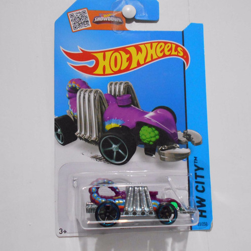 fermar4020 eevil weevil l-76 33/250 2015  hot wheels morado