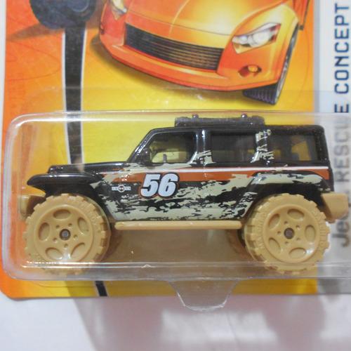 fermar4020  jeep rescue concept  g-266  #67 2007  matchbox