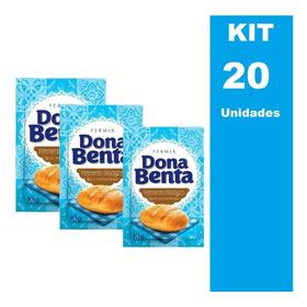 Fermento Biologico Seco Dona Benta 10g - 20 Unidades