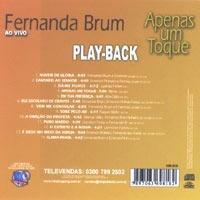 playback do cd apenas um toque fernanda brum