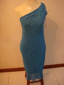 5781c9586 Vestido De Festa Longo Azul Tam. P - Vestidos Longos Femininas no ...