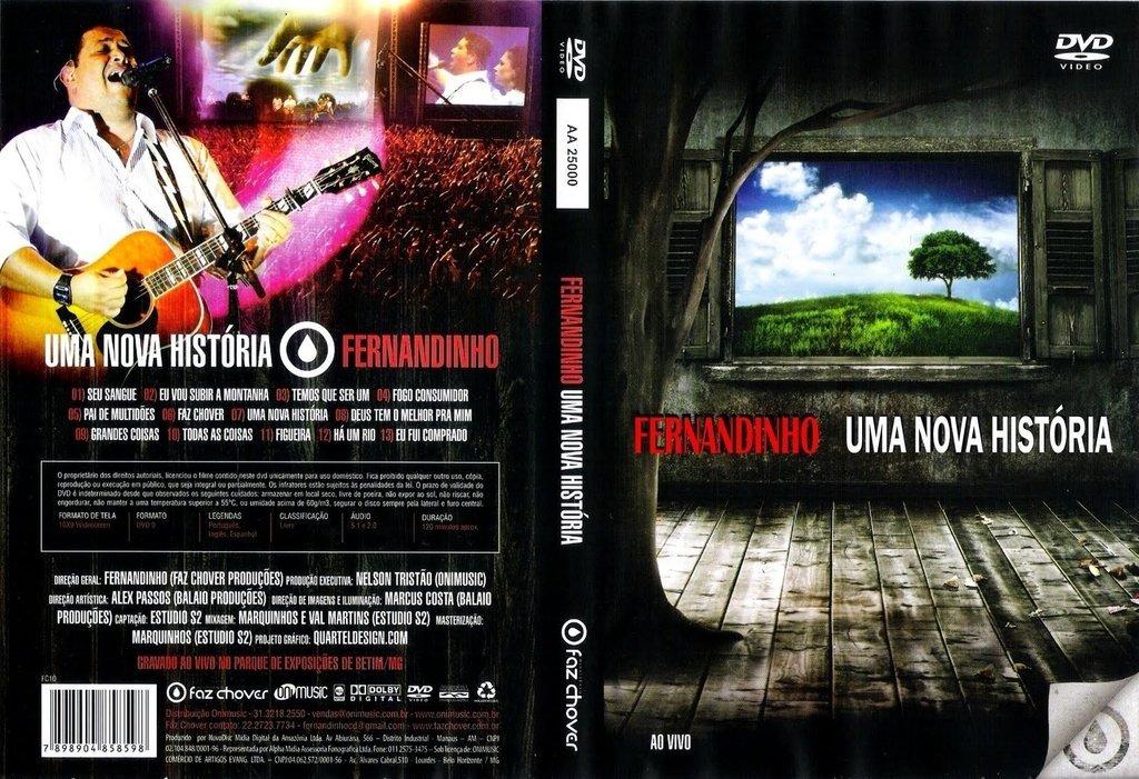 dvd gospel fernandinho nova historia