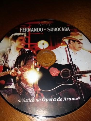 fernando e sorocaba. acústico na ópera de arame. cd. sem cap