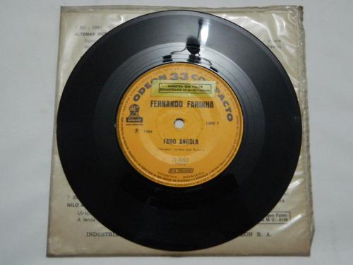fernando farinha 1964 fado angola - compacto ep 67