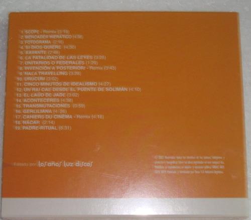 fernando samalea compilado 1997/2003 + remixes cd sellado