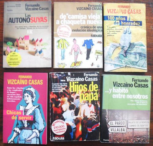 fernando vizcaíno casas - novelas varias 2 x 70