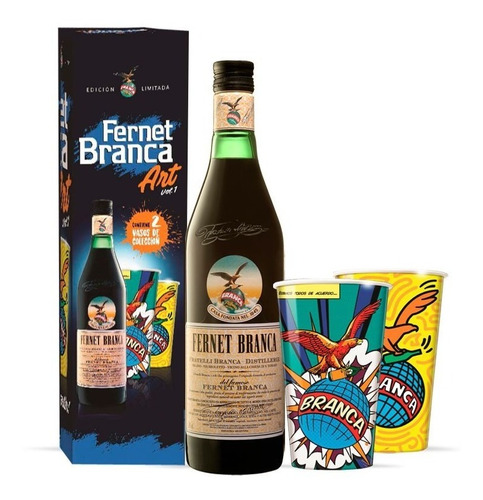 fernet branca art 750ml vol 1 - berlin bebidas
