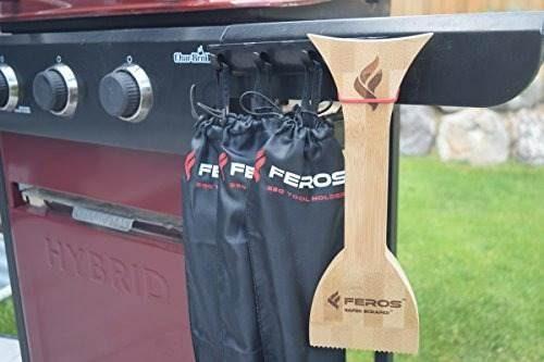 feros safer scraper - wood bbq limpiador de parrillas de !