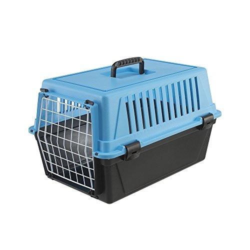 ferplast atlas 10 del gato y del perro del portador, azul