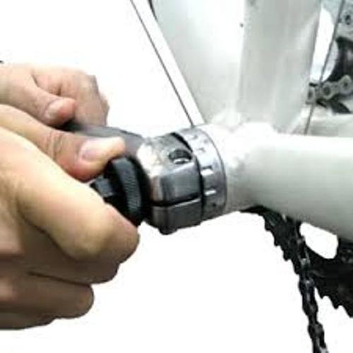 ferramenta extrator da tampa pedivela integrado hollowtech