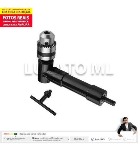 ferramenta mandril angular 90° p/ furadeira parafusadeira np