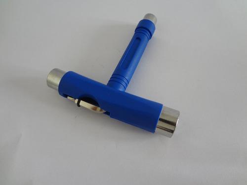 ferramenta multi uso chave formato t longboard skate