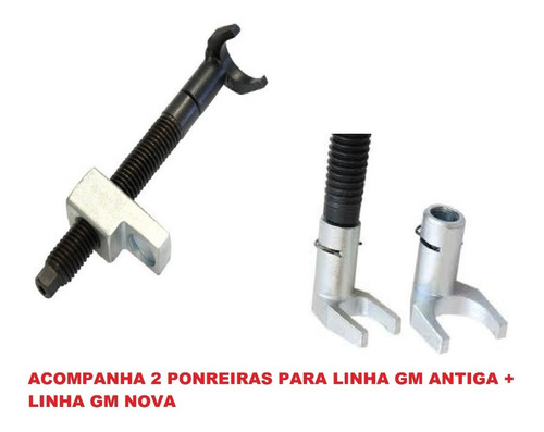 ferramenta p/troca de tuchos motores gm mpfi,vhc e econoflex