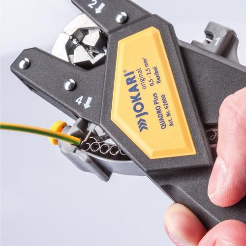 ferramentas de crimpagem quadro (0,5-2,5mm²) - 60000