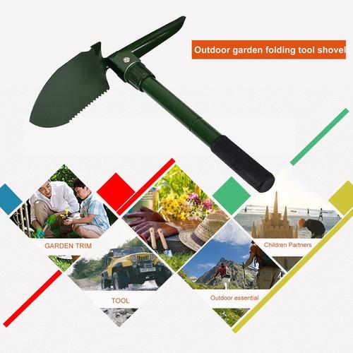 ferramentas de emergência de sobrevivência ao ar livre pá do