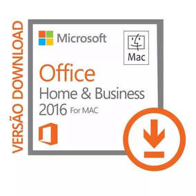Office 2016 For Mac - Home And Business - Vitalício