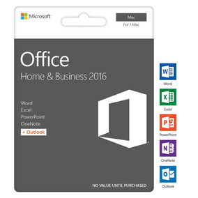 Office 2016 For Mac - Home And Business Ativacao Online