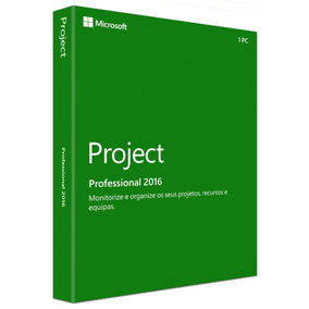 Ms Project 2016 Pro - Original