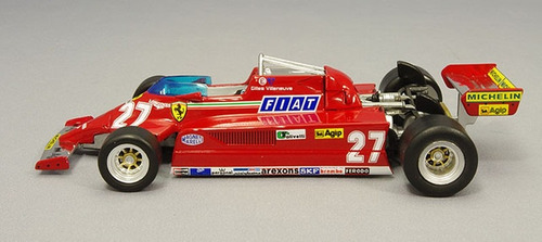ferrari 126ck f1 1981 villeneuve formula 1 esc 1/43 nuevo!
