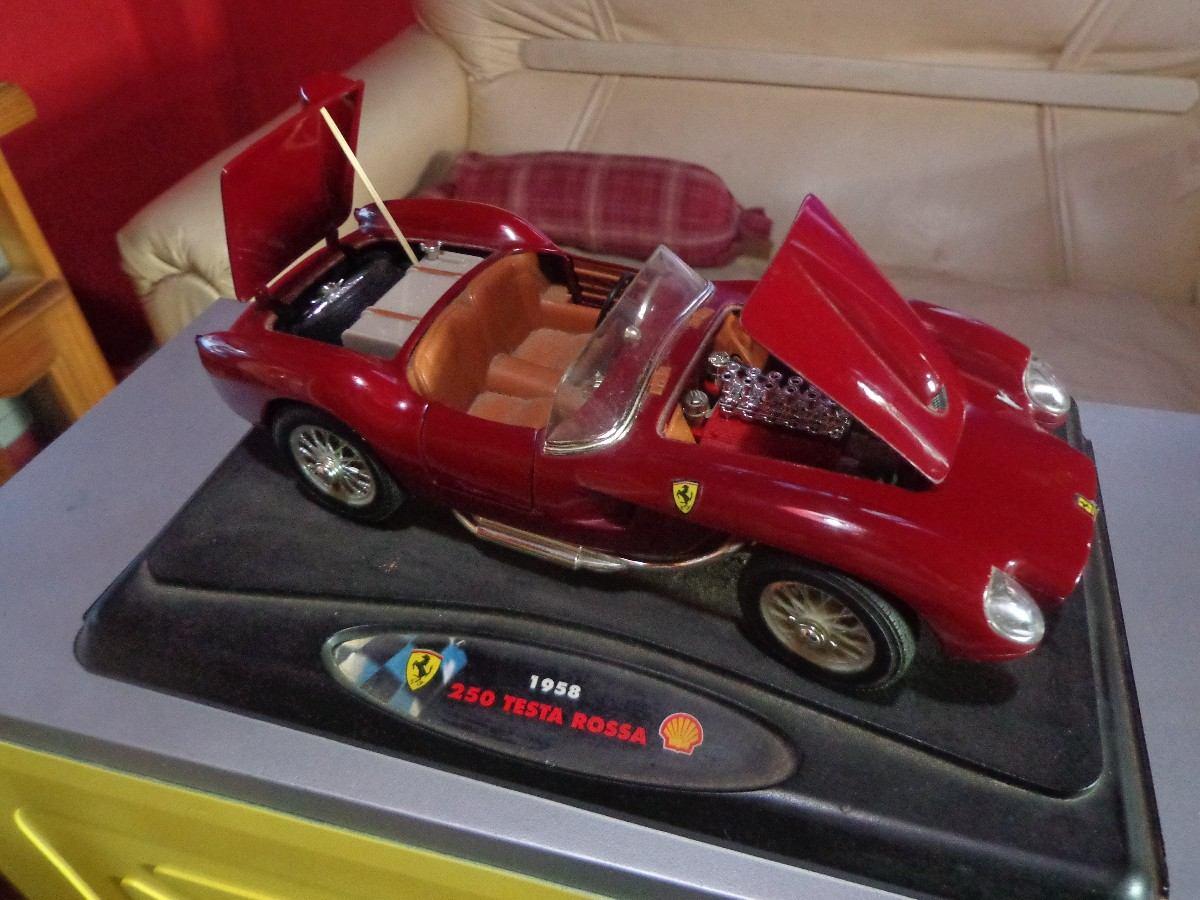 Ferrari 250 testa rossa ao 1958 shell 62000 en mercado libre ferrari 250 testa rossa ao 1958 shell vanachro Gallery