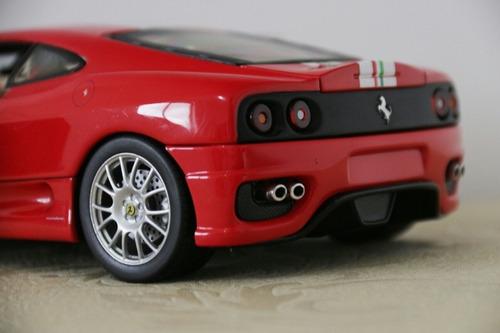 ferrari 360 challenge stradale hot wheels 1/18
