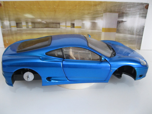 ferrari 360 modena - 1/18 hot wheels  -  r a r i d a d e