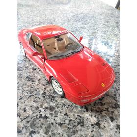 Ferrari 456 Gt 1992 Vermelha Bburago 1/18