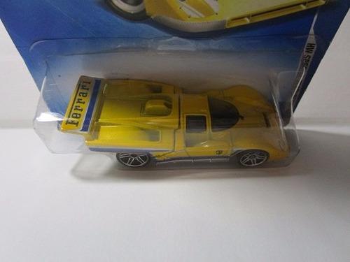 ferrari 512m mattel 2009 escala 1/64 coleccion hot wheels