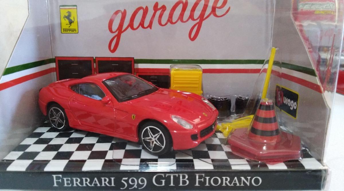 Ferrari 599 GTB Fiorano rojo escala 1:43 de Bburago