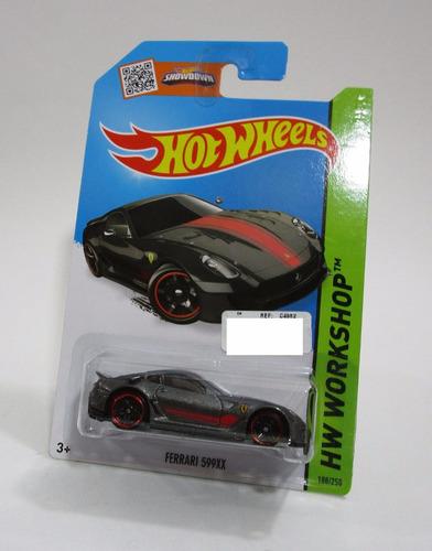 ferrari 599xx escala 1/64 coleccion  hot wheels 2013