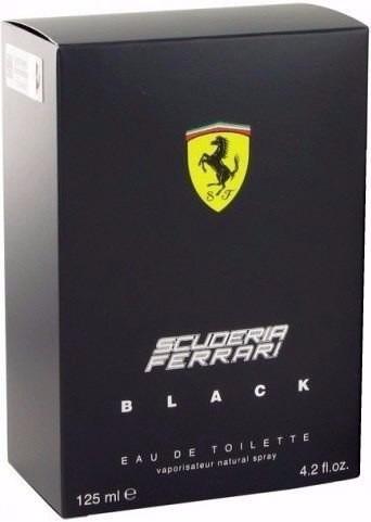 ferrari black 125ml 100% original - importados