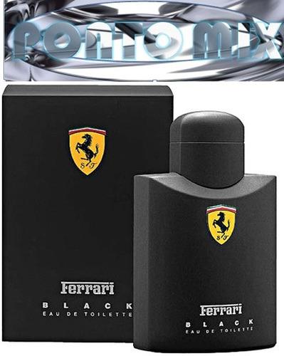 ferrari black 125ml original italy + frete gratis