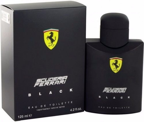 ferrari black 125ml perfume 100% original - importados