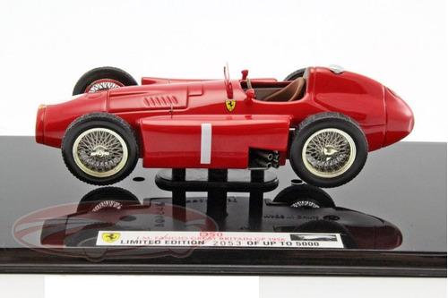 ferrari d50 f1 # 1 fangio campeon 1956 edic limitada 1/43