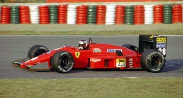 12 - Gerhard Berger FERRARI F1-87 1:43 F1 1987