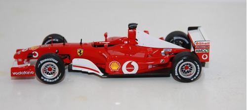 ferrari  f200 # 2 winnwe gp nurburgring 2002 1:43 hotwheels