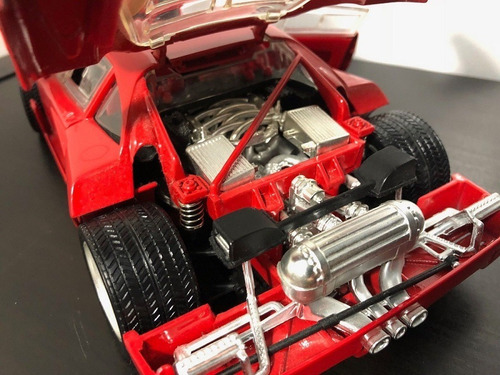 ferrari f40 escala 1:18 hot wheels diecast
