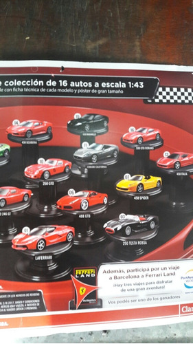 ferrari gt collection. clarín. consultar entreg. 1.2.3.