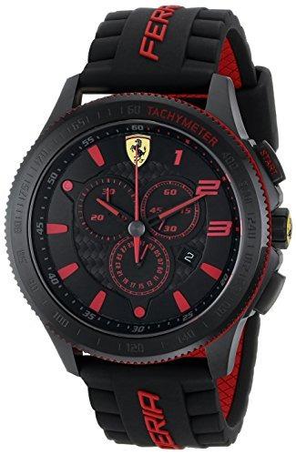 ferrari scuderia xx 0830138 reloj de pulsera de silicona par