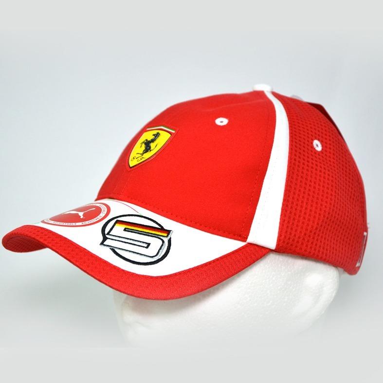 Ferrari Sebastian Vettel Formula One Gorra 100% Original ... 81f993b65ad