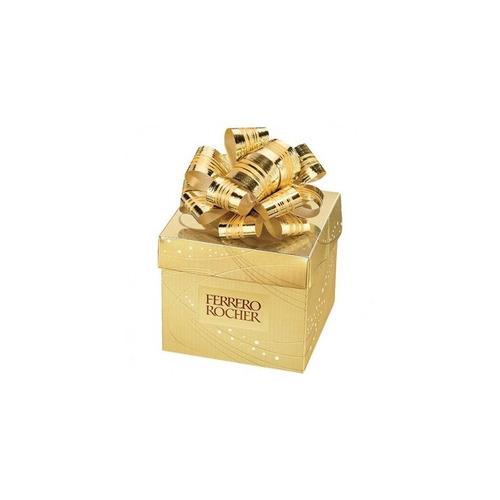 ferrero rocher caixa cubo presente com 6 bombons ferrero