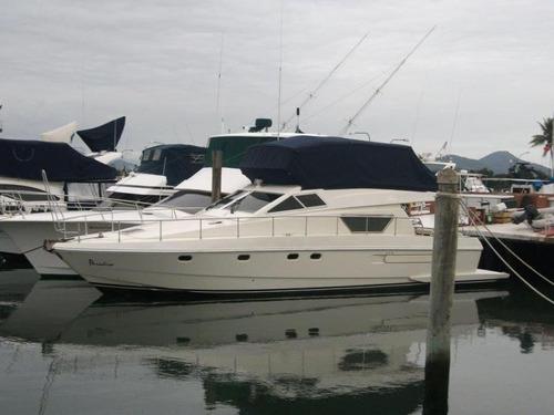 ferretti 50 1996 2 motores man 600 hp - marina atlântica