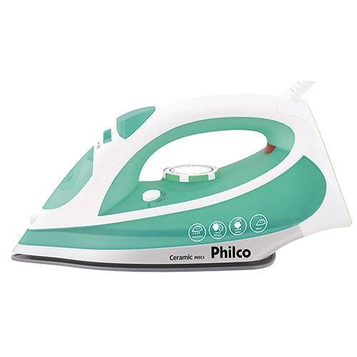 ferro de passar à vapor philco ceramic pfec1 verde 110v