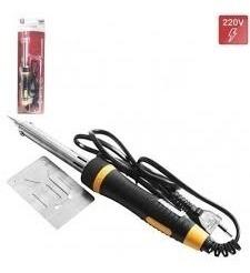 ferro de solda 100w profissional estanhador com suporte 127v