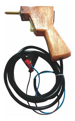 ferro de solda estanhador cabo de madeira 12 v